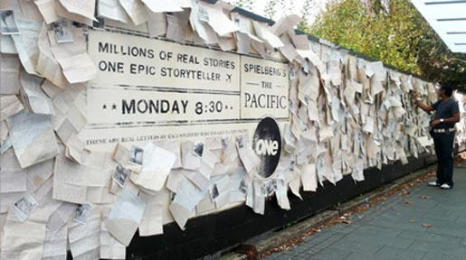 The Pacific Wall of Letters April 2010