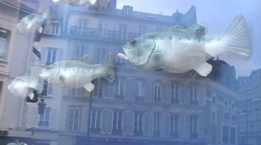 Findus Fish Choir billboard