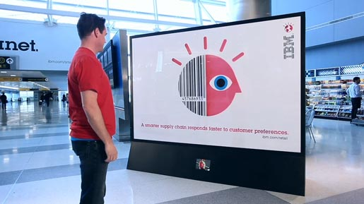IBM Color Sensitive Billboard