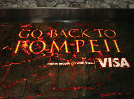 Go Back to Pompeii lava flow at Wellington Airport