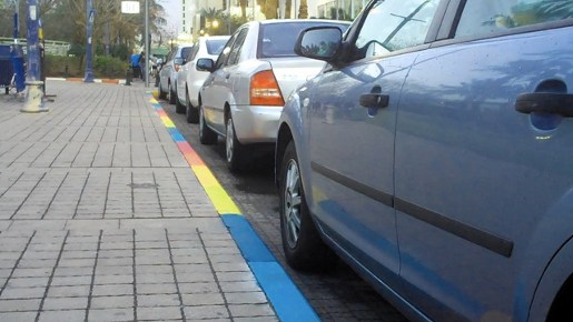 Tambour Parking Colors