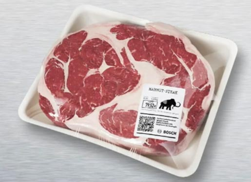 Bosch Fresh Stone Age Mammoth Steak