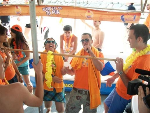 Fanta Never Say No To Fun Yacht Party