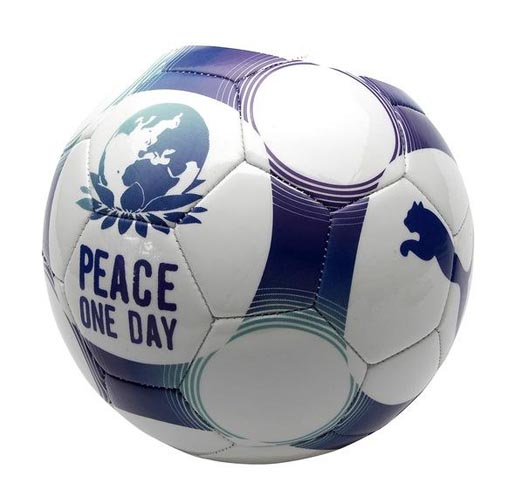 Peace One Day football