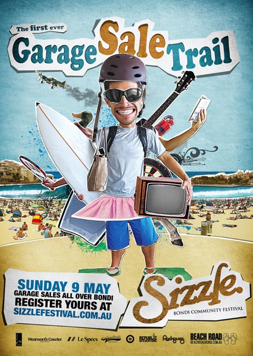 Garage Sale Trail 2011 poster