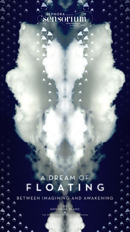 Sensorium Dream of Floating poster