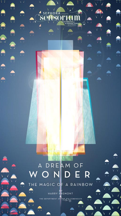 Sensorium Dream of Wonder poster