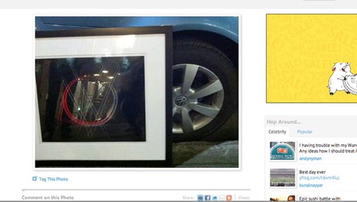 Volkswagen Art Heist photo on Facebook