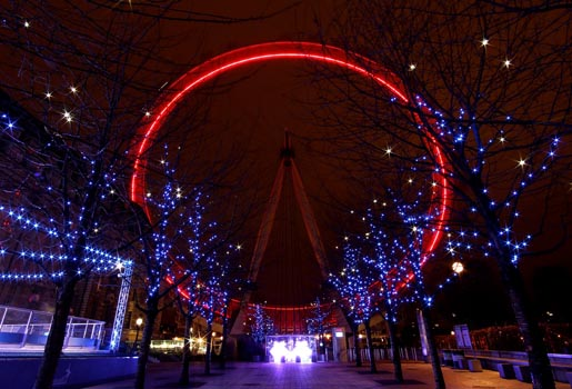 London Eye (red)