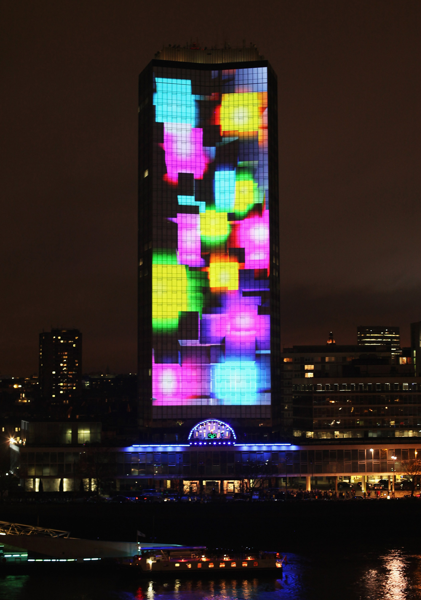 Nokia Lumia Live on Millbank Tower - The Inspiration Room