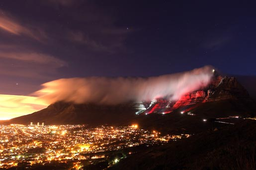 Table Mountain (red)