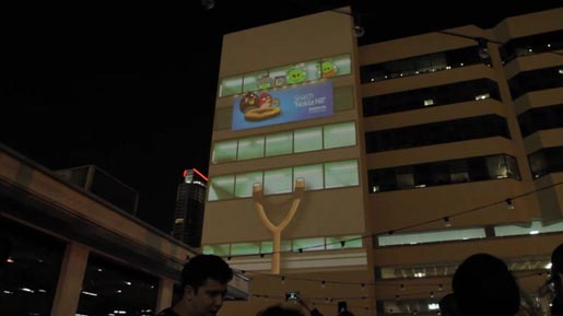 Angry Birds Nokia Projection