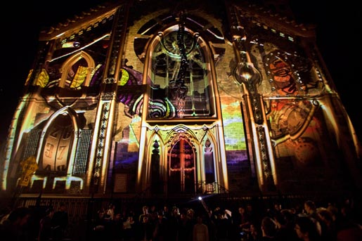 Saint Patrick's Cathedral 3D Projection Mapping