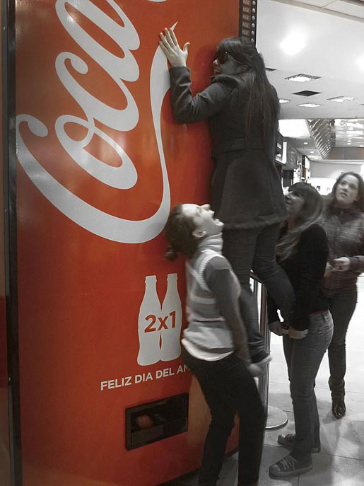 Coca Cola Friendship Machine
