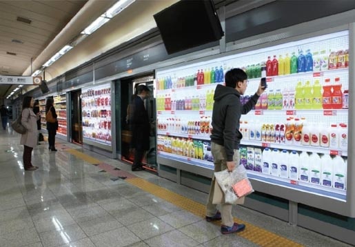 Homeplus Virtual Subway Store