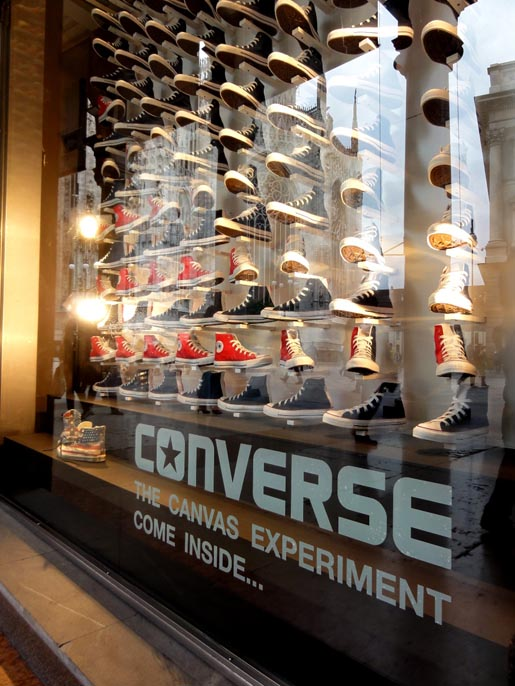 Converse Canvas Experiment Milan