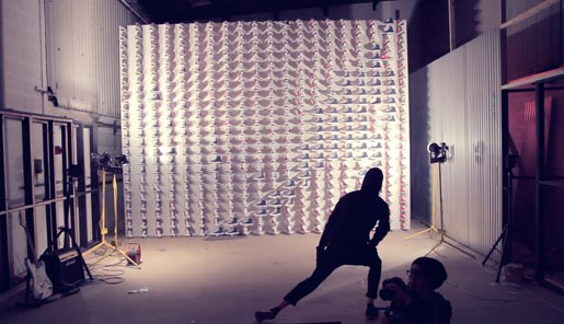 Converse Canvas Experiment Motion Detection