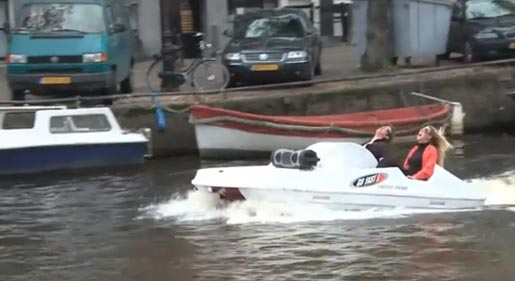 Go Fast Canal Boat
