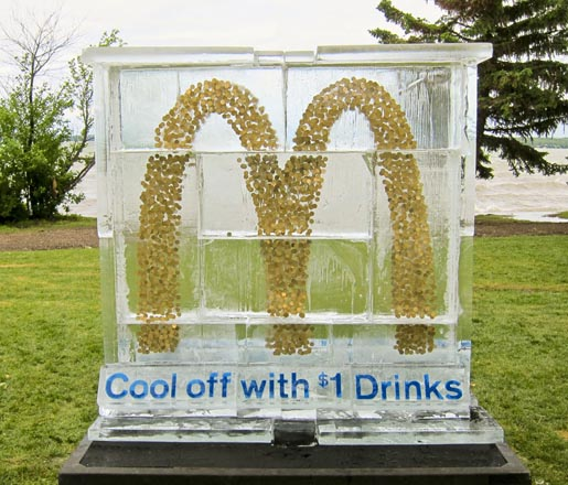 McDonalds Dollar Drinks Ice