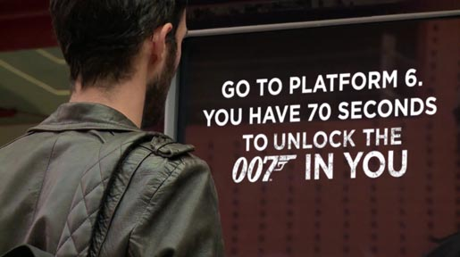 Coke Zero Unlock the 007 in You in 70 Seconds