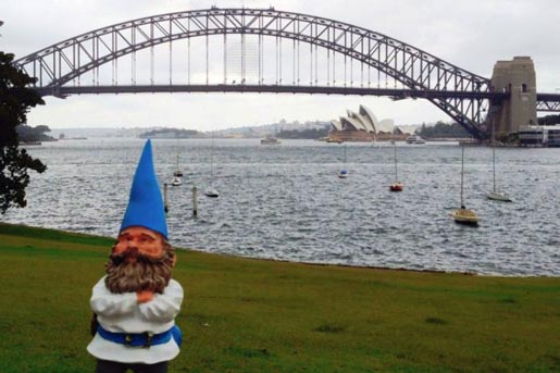 The Gnome Experiment in Sydney