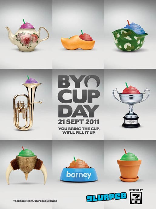 BYO Cup Day Posters