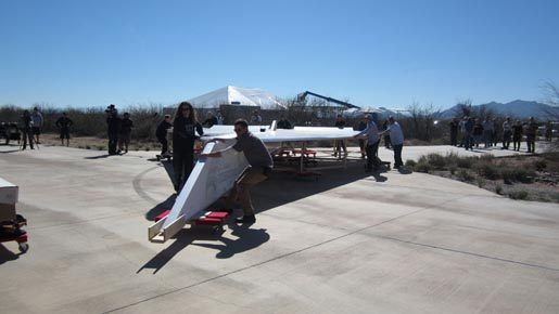 PIMA Great Airplane Setting Up