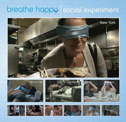 Febreze Breathe Happy Social Experiment