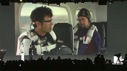 Google Glass Skydivers