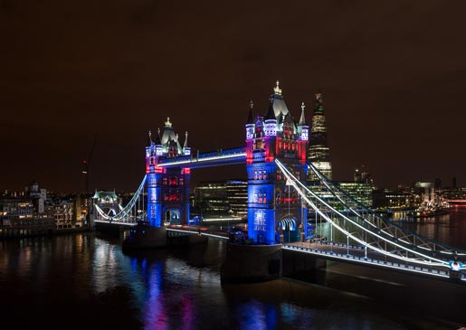 GE EDF Tower Bridge - photo by Andy Matthews