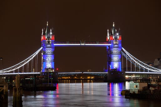 GE EDF Tower Bridge - photo by Simon Kennedy