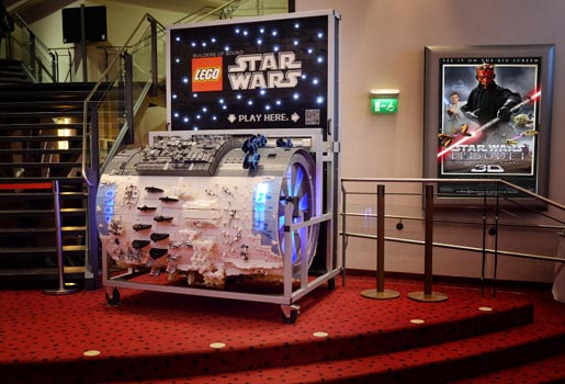 LEGO Star Wars Barrel Organ
