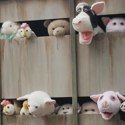 Banksy Sheep Truck