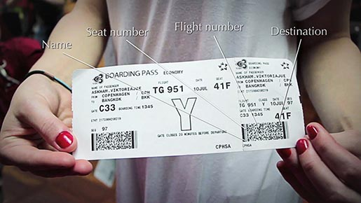 Anthon Berg Upgrader Boarding Pass