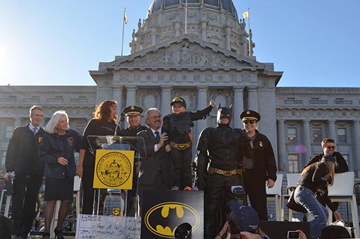 Gotham City thanks Batkid