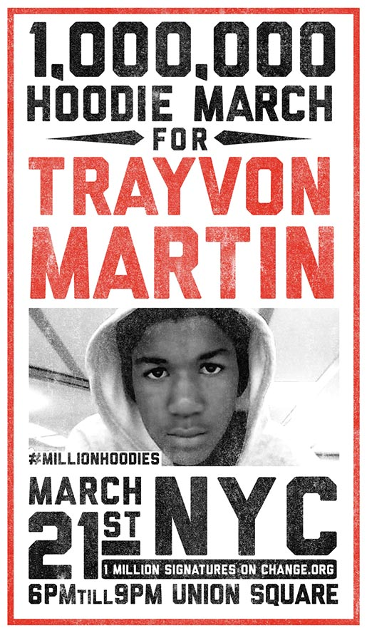 Million March for Trayvon