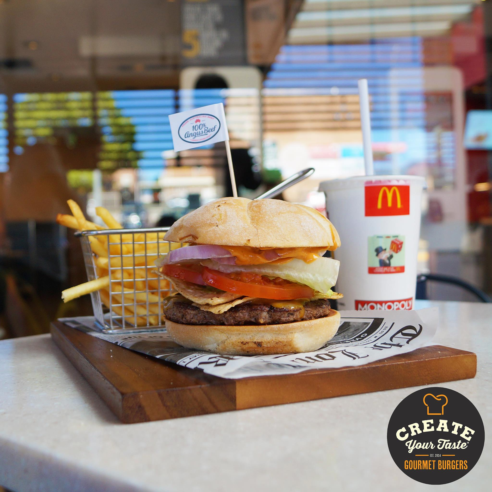 mcdonalds create your taste in learning lab restaurant the