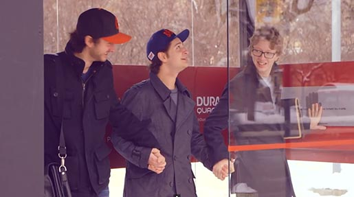 Duracell Power Warmth Bus Shelter