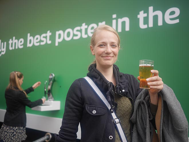 Carlsberg Best Poster - Glass