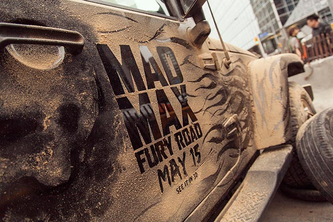 Mad Max Your Ride