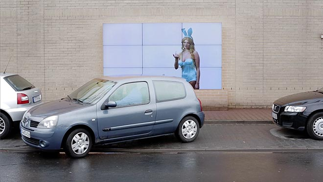 Fiat Parking Billboard