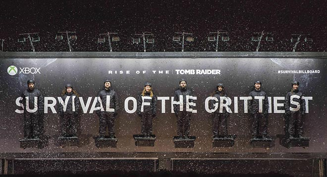 Tomb Raider Survival Billboard