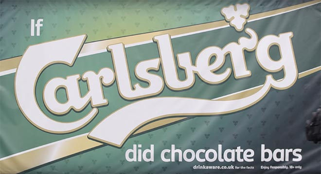 If Carlsberg did chocolate bars