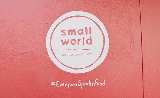 Small World Everyone Speaks Food
