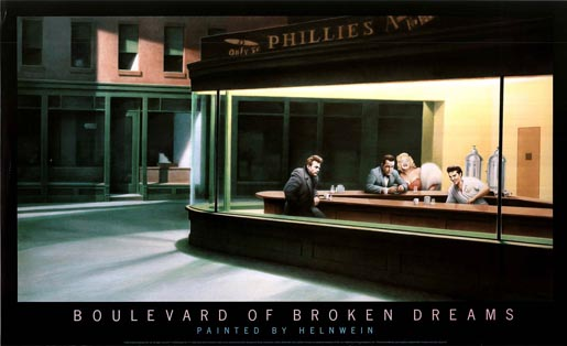 Boulevard of Broken Dreams by Gottfried Helnwein