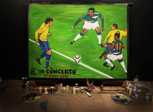 Adidas Live Quest Painting: In Concerto