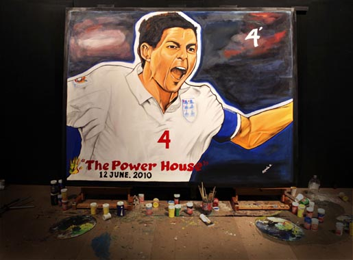 Adidas Live Quest Painting: The Powerhouse