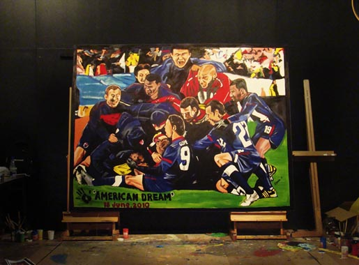 Adidas Live Quest Painting: American Dream