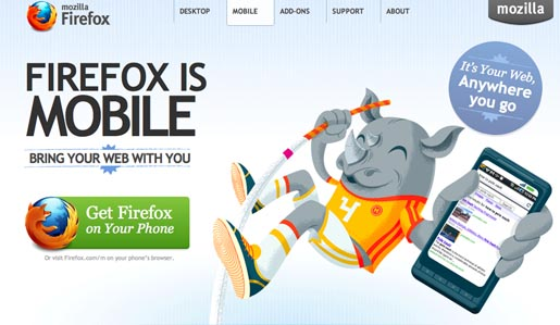 Firefox is Mobile