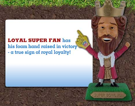 Burger King Super Loyal Fan Toy
